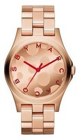 Marc Jacobs Henry Women's Watch Color: Rose Gold