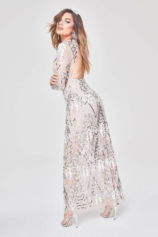 a98c3a7075e1 Boohoo Embellished Dress - ShopStyle