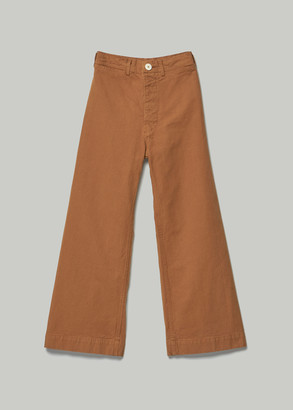 Jesse Kamm Women's Sailor Pant in Tobacco Size 0