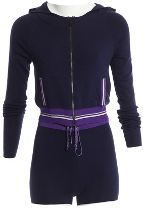 La Perla Navy Cashmere Knitwear for Women