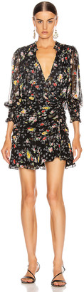 Veronica Beard Armeria Dress in Black Multi | FWRD