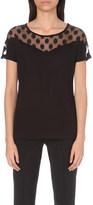 Claudie Pierlot Tammie jersey t-shirt