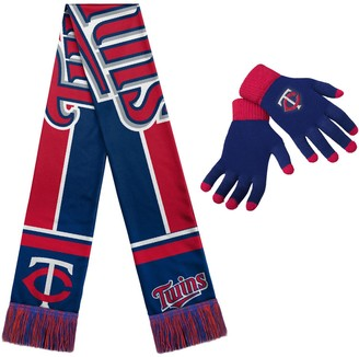 Minnesota Twins Gloves & Scarf Set