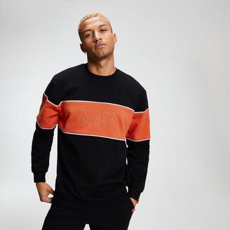 Myprotein MP Rest Day Men's Stripe Sweatshirt - Black - XS