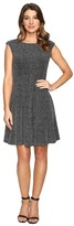 rsvp Dahlia Sparkle Knit Fit and Flare Women's Dress