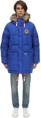 Polo Ralph Lauren Reversible Oversized Nylon Down Jacket