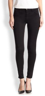 J Brand 485 Luxe Sateen Super Skinny Jeans