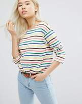 MiH Jeans Long Sleeve Stripe Top