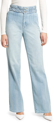 Blank NYC The Delancey Braided High Waist Jeans