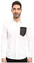 7 Diamonds Sheer Wit Long Sleeve Shirt Men's Long Sleeve Button Up