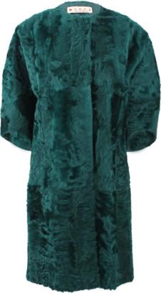 Marni Xiangao Lamb Fur Coat