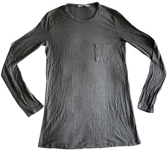 Alexander Wang Grey Cotton Top for Women