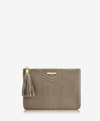 GiGi New York All In One Bag In Military Embossed Python