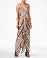 GUESS Keira Asymmetrical Maxi Dress