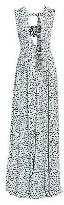 Proenza Schouler Women's Cutout Printed Maxi Dress
