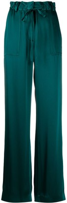 Tom Ford High-Waisted Wide-Leg Trousers