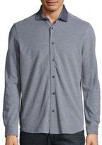 Saks Fifth Avenue Long Sleeve Cotton Shirt