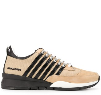 DSQUARED2 Striped Sneakers