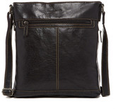 Jack Georges Voyager Genuine Buffalo Leather Crossbody