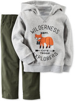 Carter's 2-Pc. Wilderness Explorers Hoodie & Pants Set, Baby Boys (0-24 months)