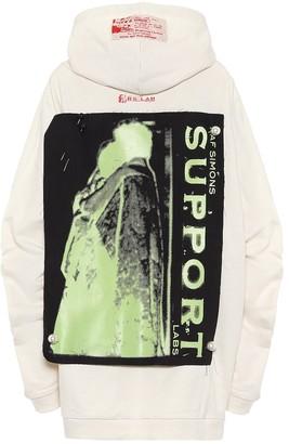 Raf Simons Appliqued cotton hoodie