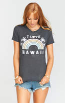 MUMU Lennox Tee ~ I Love Hawaii Graphic