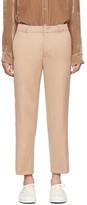 Sies Marjan Tan Orion Striped Trousers
