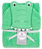 Carter's Alligator Puppet Towel - Blue