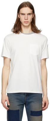 Remi Relief Off-White Double Neck Grunge T-Shirt