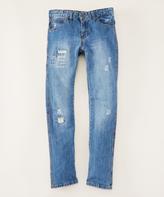 DKNY Medium Classic Core Rip N Repair Jeans - Boys