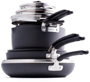 Green Pan Levels 11-Pc. Stackable Ceramic Nonstick Cookware Set