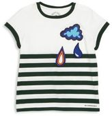 Burberry Baby's & Toddler Boy's Striped Cloud Graphic Tee