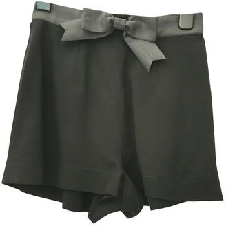 Moschino Cheap & Chic Moschino Cheap And Chic Black Cloth Shorts for Women