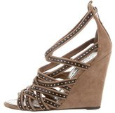 Barbara Bui Stud-Embellished Cage Sandals