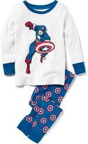 Old Navy Marvel Comics Captain America Sleep Set for Toddler & Baby