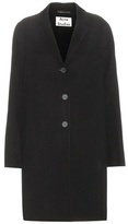 Acne Studios Elsa Double Wool And Cashmere Coat
