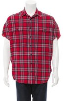 R 13 Oversize Plaid Shirt