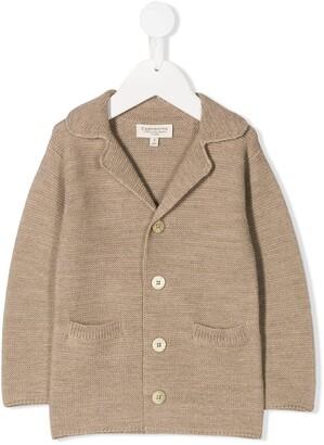 Cashmirino Knit V-Neck Jacket