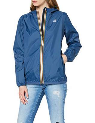 K-Way Women's Claudette Trenchcoat Long Sleeve Jacket, (Manufacturer Size:6)