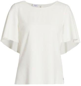 Akris Punto Cape-Sleeve T-Shirt
