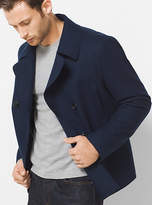 Michael Kors Wool-Melton Peacoat