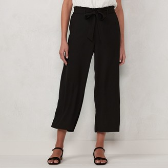 Lauren Conrad Women's Wide-Leg Trouser Pants