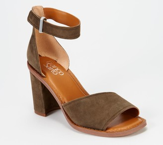 Franco Sarto Block Heeled Sandals - Caia