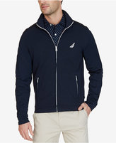 Nautica Men's Slim-Fit French Terry Track Jacket