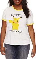 Freeze Short Sleeve Crew Neck Pokemon Graphic T-Shirt