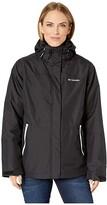 Columbia Bugabootm II Fleece Interchange Jacket (Black/White) Women's Coat