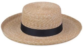 LACK OF COLOR The Violette Straw Boater Hat