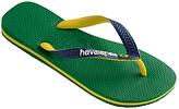 Havaianas Brasil Mix Flip Flops, Green