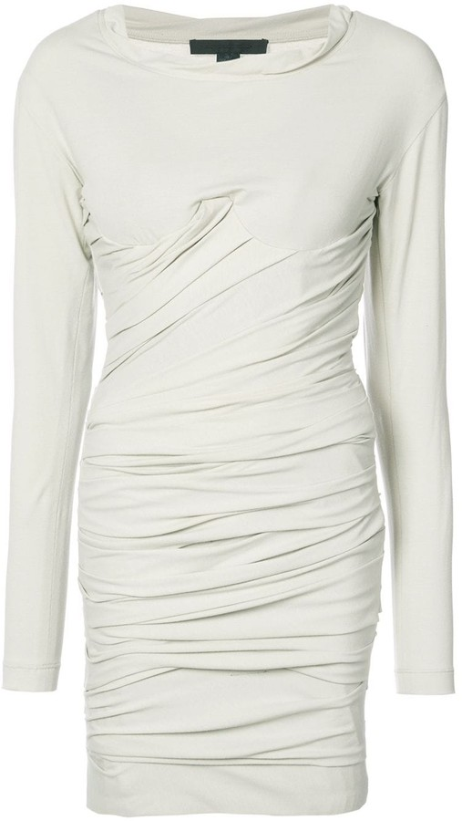Alexander Wang Bustier Ruched Mini dress
