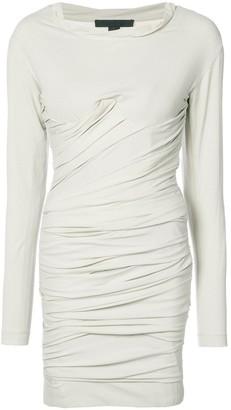 Alexander Wang Bustier Ruched Mini dress